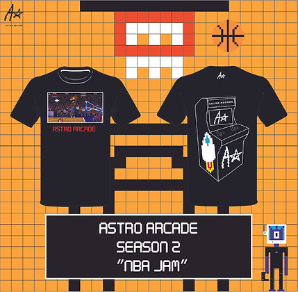 """Astro Arcade S2 """"NBA JAM"""""""
