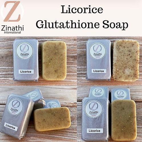 Glutathione Soap - LICORICE