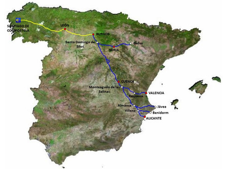 El Camino de la Lana y sus variantes