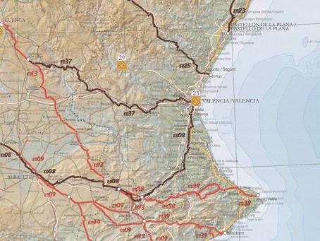 Caminos de Santiago desde la Comunidad Valenciana