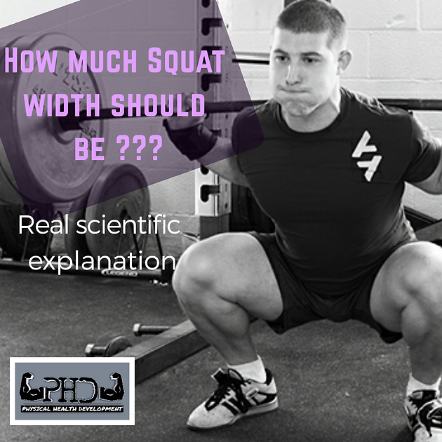 Squats!! Wide or narrow width? | Home | PHD Academy