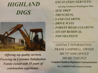 Excavation projects wanted!