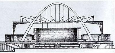 Проект на конкурс  дворца советов в СССР