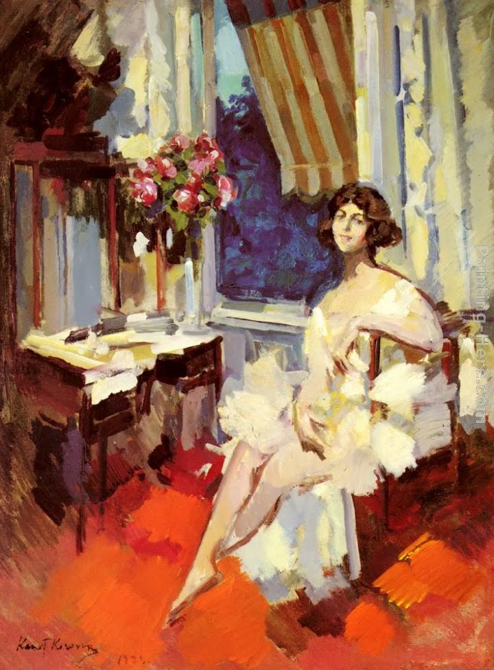 "Коровин К.А. ""Балерина в будуаре"", 1923 г."