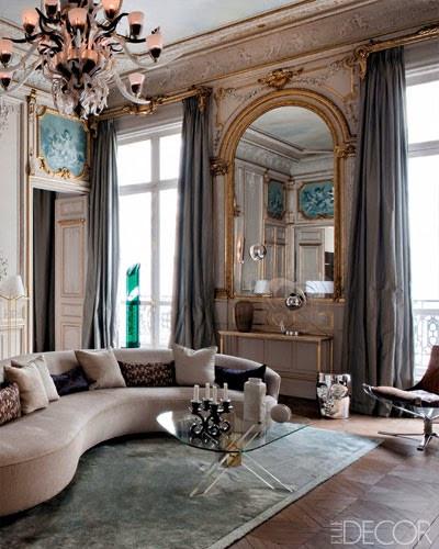 Интерьер в Париже