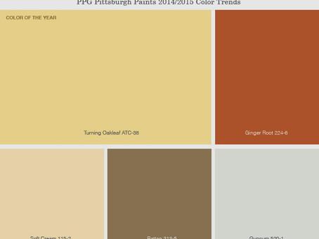 Модный интерьер в цветах 2014 года