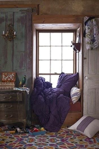 Сиденье у окна