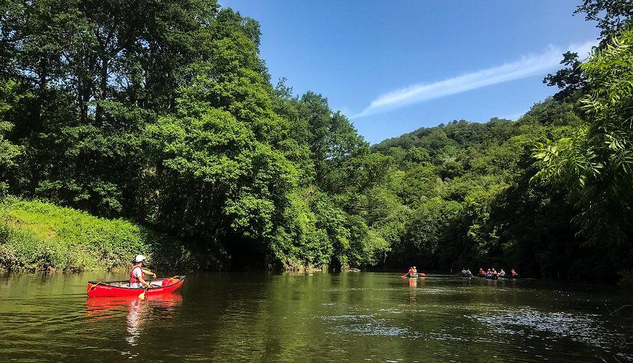 Canoeing the Wye - Rapid Skills