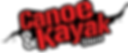 canoe and kayak store logo