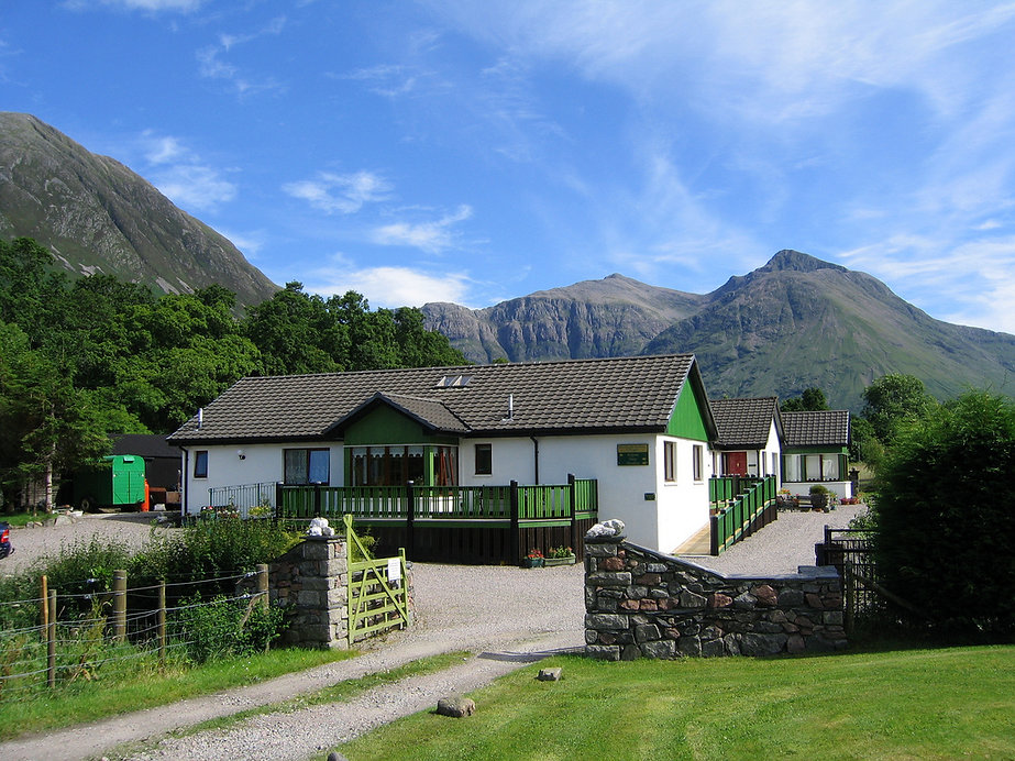 Rented cottage in Glen Coe
