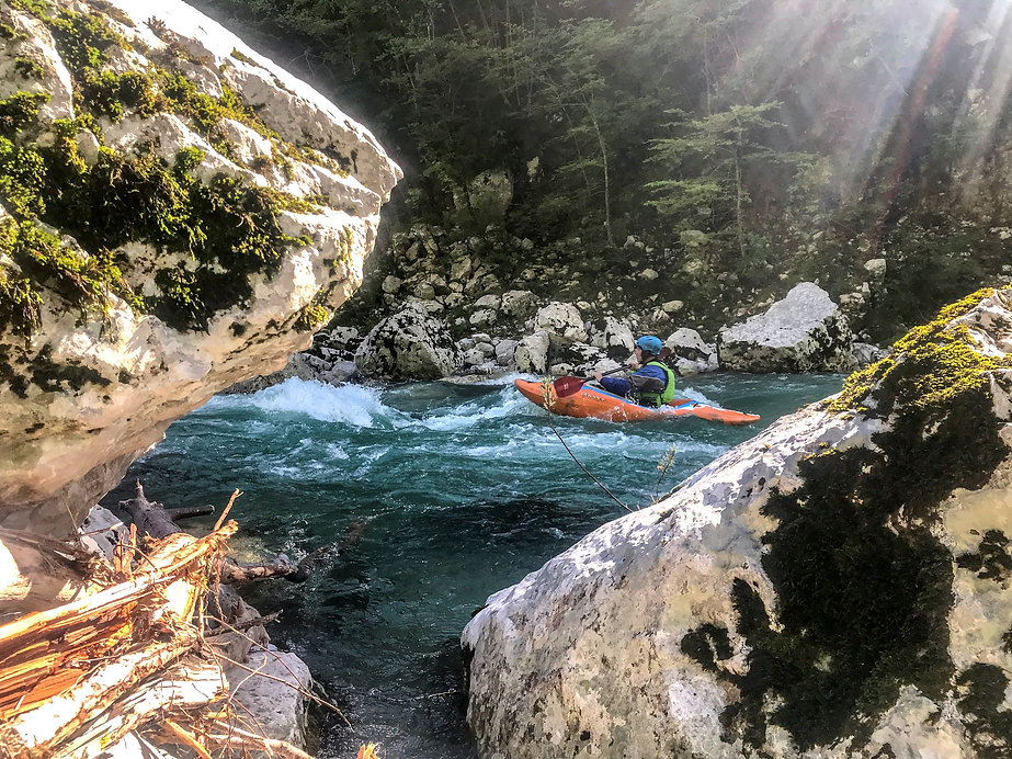 Soca Kayaking | Rapid Skills