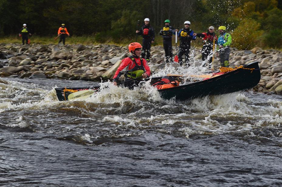 Spey Canoeing