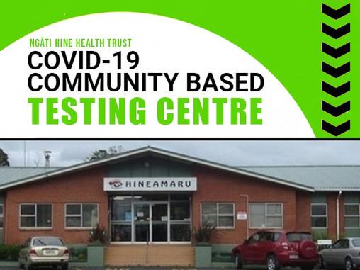 Covid-19 Testing Centre in Kawakawa available to everyone