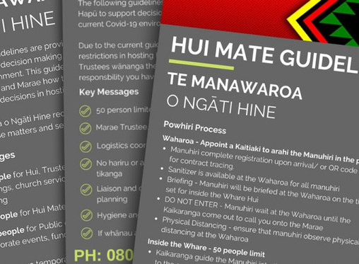 Te Manawaroa o Ngāti Hine Stands Ready to Respond to the Second Wave of COVID-19