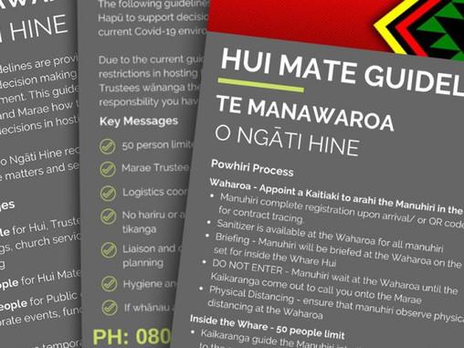 28 FEB 2021: ALERT LEVEL 2 GUIDELINES from Te Manawaroa o Ngāti Hine
