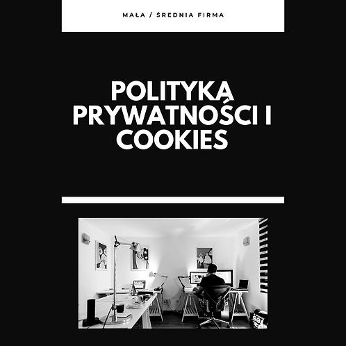 Polityka prywatności i cookies