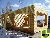 Брусовые дома ИТИС. Строительство в Красноярске деревянных домов