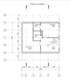 Проект - Лист - 4 - План 1-го этажа, План 2-го этажа (2)