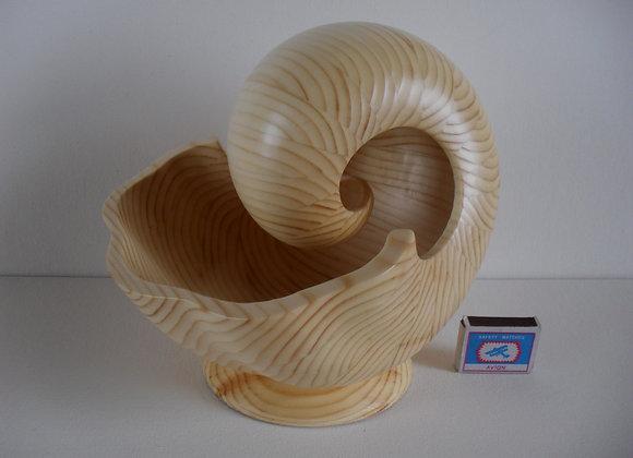 «Скульптура из дерева Наутилус - 5БM»