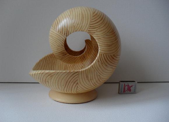 «Наутилус из дерева.Скульптура- 10 БМ»»