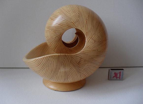 «Декоративная скульптура из дерева Наутилус - 7 БМ»