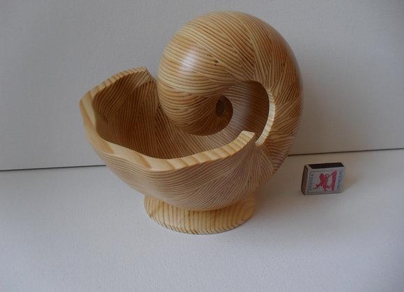 «Скульптура из дерева Наутилус - 6БM»»