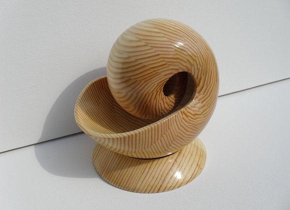 Арт объект из дерева Наутилус - 1МГ»