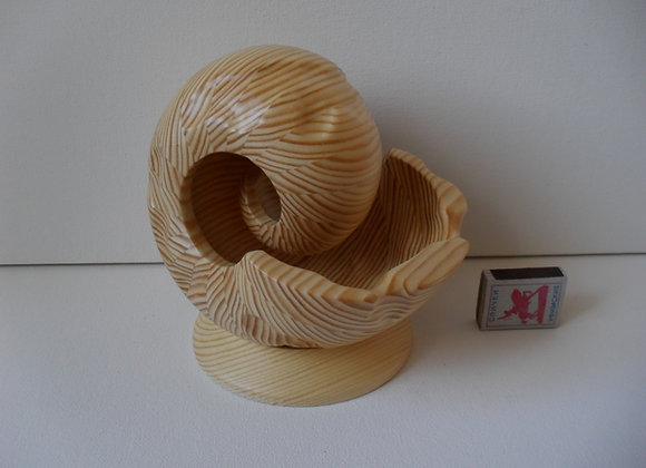 «Скульптура из дерева Наутилус - 3ММ»