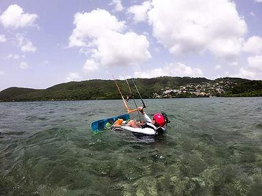 kite surf Martinique