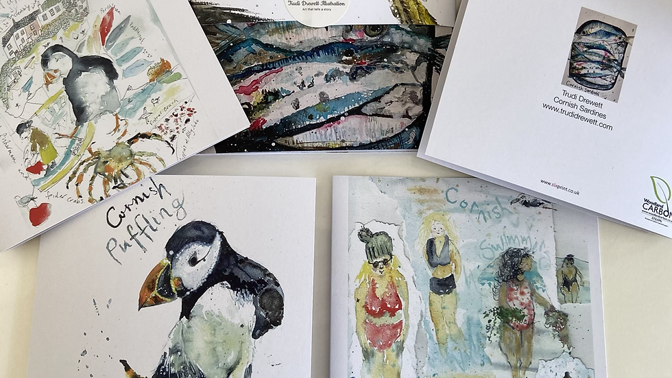 Cornish Life Card Pack / Notelets