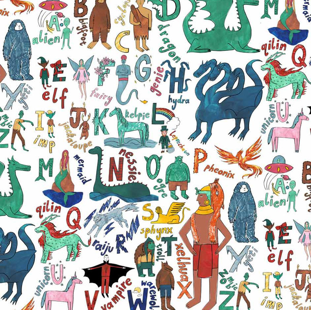 alphabet-of-mythical-creatures