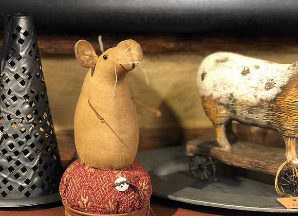 Mouse On Pincushion