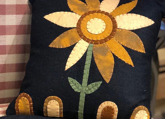 """Sunflower Pillow 12"""""""