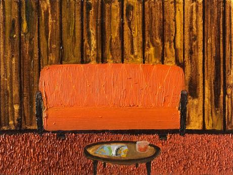 Friday nights, Oil on canvas panel, 18x24cm, 2021