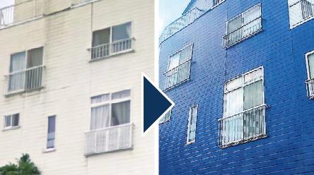 外壁塗装を低価格で!答えは完全自社施工/近代リフォーム