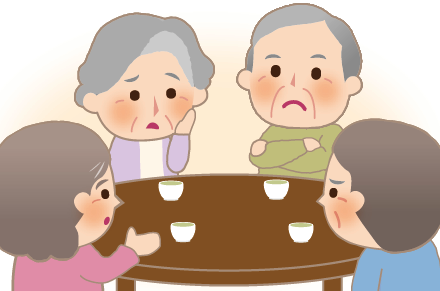 家族が集まる場で相続不動産の相談を!/平和不動産株式会社