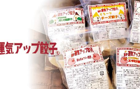 冷凍餃子(20個入り)500円/運気アップ餃子