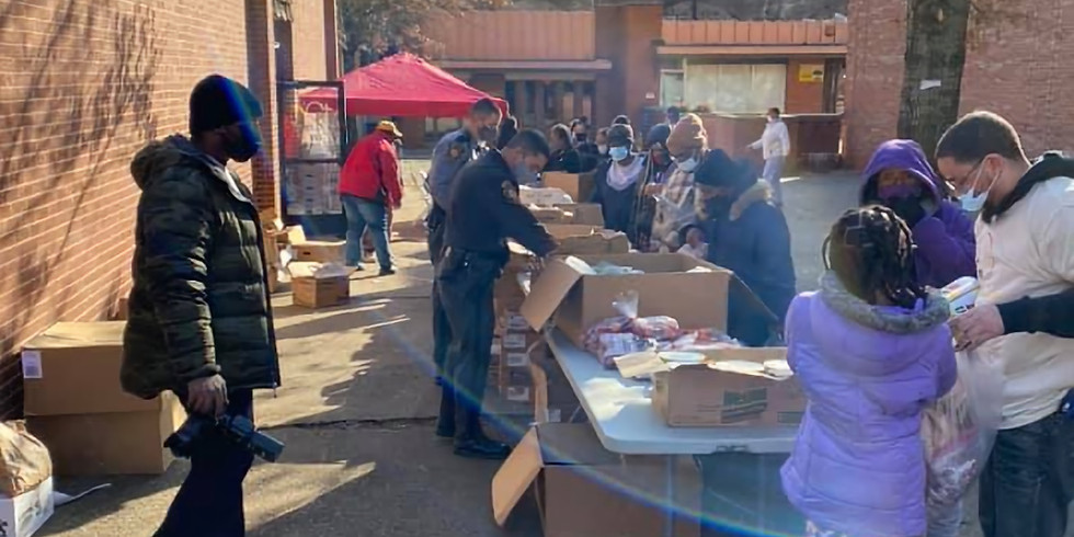 Food Box Distribution- First Come First Serve