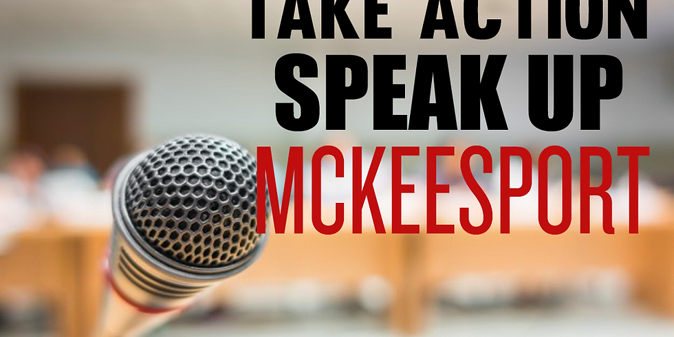 TAKE ACTION - McKeesport City Council Meeting