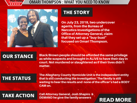 #Justice4OmariThompson-The Fight Continues