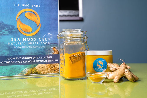 Ginger & Turmeric | Super  Foods Plus Sea Moss Gel