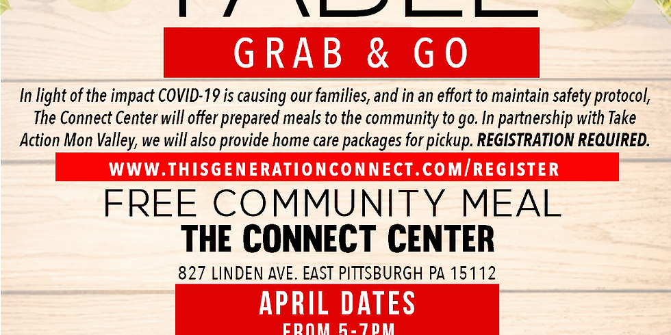 The Open Table - Grab and Go April 28