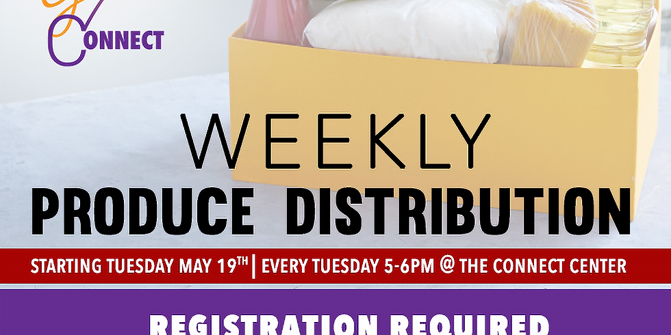 Food Box Distribution- Tuesday August 25