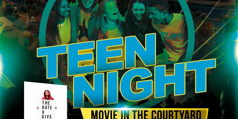 Teen Night - Movie In The Courtyard
