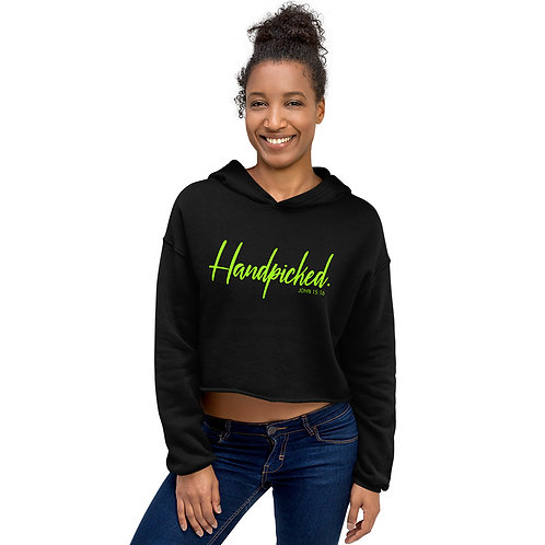 It's Electric - Handpicked Cropped Hoodie
