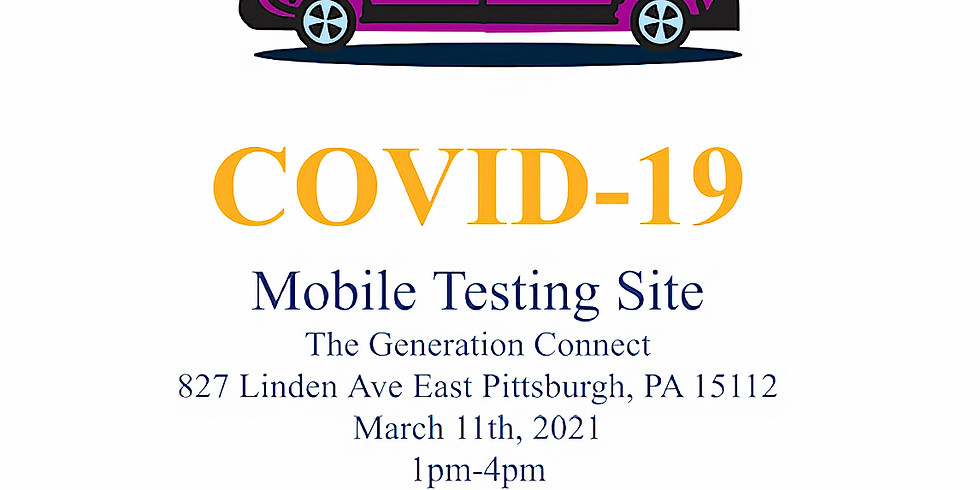 Free COVID Testing @ The Connect Center & Food Box Distribution