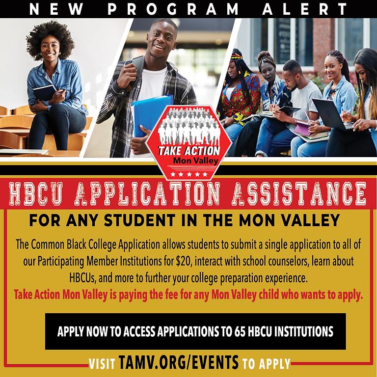HBCU Application Assistance via Common College Application