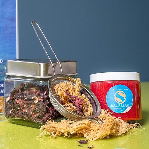 Hibiscus | Super  Foods Plus Sea Moss Gel