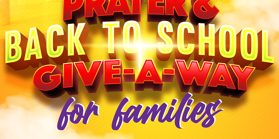 Prayer & Back To School Give-A-Way