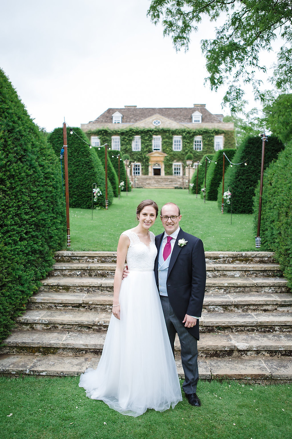 Natalia and Tom at Cornwell Manor